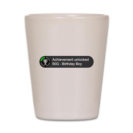 Birthday Boy (Achievement) Shot Glass