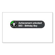 Birthday Boy (Achievement) Decal