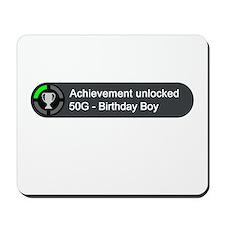 Birthday Boy (Achievement) Mousepad