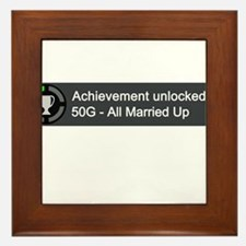 All Married Up (Achievement) Framed Tile