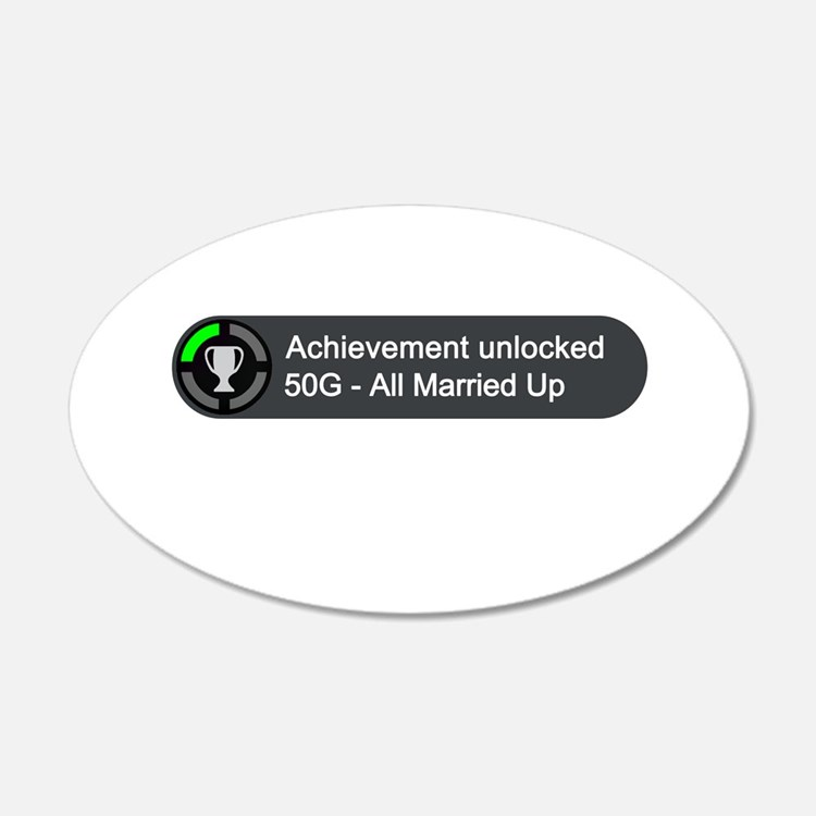 All Married Up (Achievement) Wall Decal