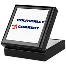 Politically Incorrect Keepsake Box