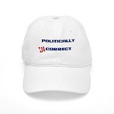 Politically Incorrect Baseball Baseball Cap