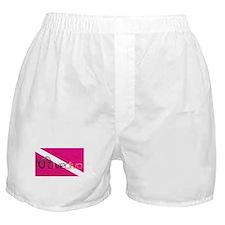 Dive Diva Mask Boxer Shorts