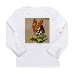 Butterfly Long Sleeve Infant T-Shirt
