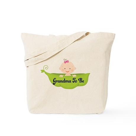 Grandma to Be Pea Pod Tote Bag