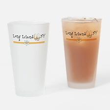Long Island New York Drinking Glass