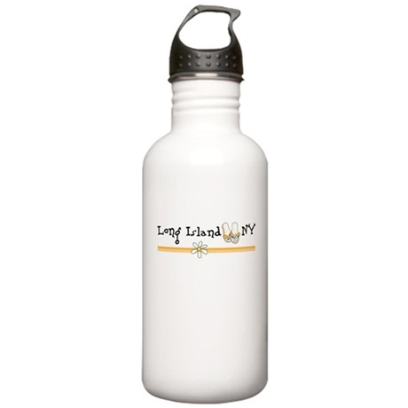 Long Island New York Stainless Water Bottle 1.0L