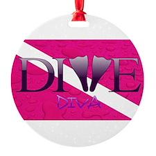 Dive Diva Fins Ornament