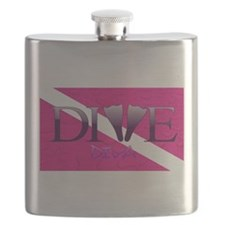 Dive Diva Fins Flask