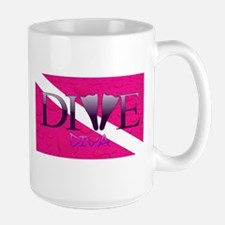 Dive Diva Fins Mug