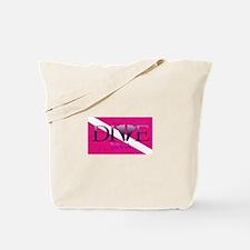 Dive Diva Fins Tote Bag