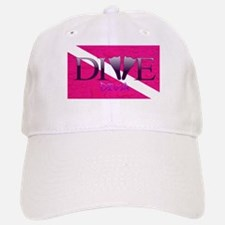 Dive Diva Fins Baseball Baseball Cap