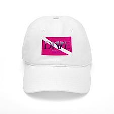Dive Diva Fins Baseball Cap
