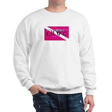 Dive Diva Fins Sweatshirt