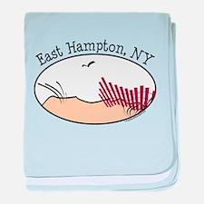 East Hampton baby blanket
