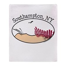 Southampton NY Throw Blanket