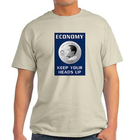 Obama 2012 Economy T-Shirt Light T-Shirt