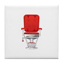 Barber's Chair Barber Shop Tile Coaster