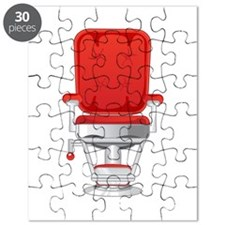 Barber's Chair Barber Shop Puzzle