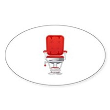 Barber's Chair Barber Shop Decal