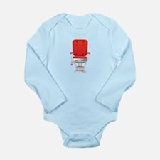 Barber's Chair Barber Shop Long Sleeve Infant Body