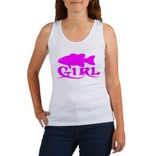 BASS GIRL Women's Tank Top