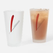 Straight Razor Drinking Glass