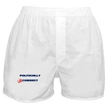 Politically UNcorrect Boxer Shorts