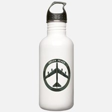 B-52 Peace Sign Water Bottle