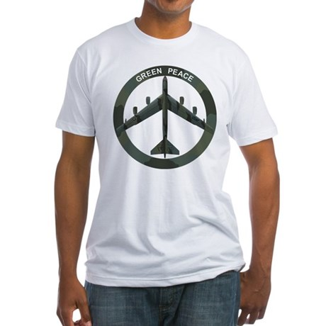 B-52 Peace Sign Fitted T-Shirt