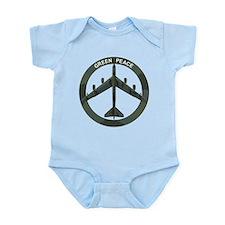 B-52 Peace Sign Infant Bodysuit