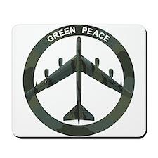 B-52 Peace Sign Mousepad