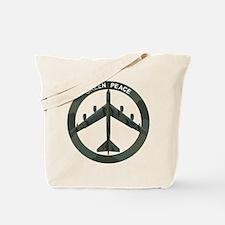 B-52 Peace Sign Tote Bag