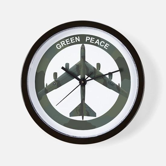 B-52 Peace Sign Wall Clock