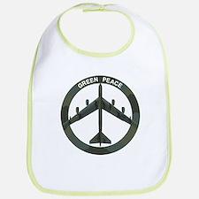B-52 Peace Sign Bib
