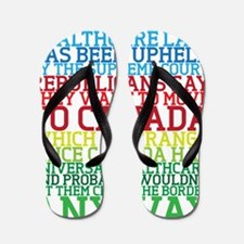 Healthcare and Canada Flip Flops