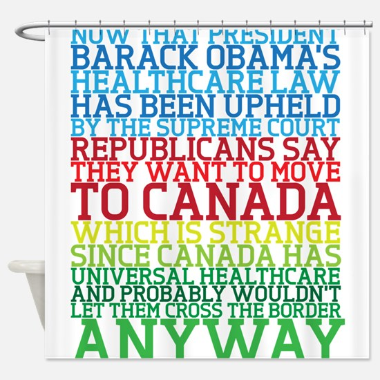 Healthcare and Canada Shower Curtain