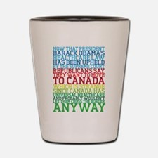 Healthcare and Canada Shot Glass