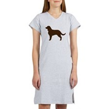 American Water Spaniel Women's Nightshirt