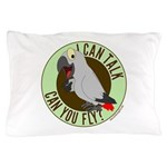 I can talk can you fly.png Pillow Case