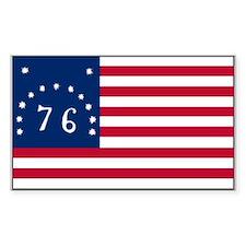 The Bennington Flag Shop Rectangle Decal