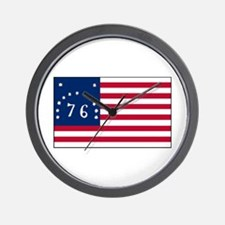 The Bennington Flag Shop Wall Clock
