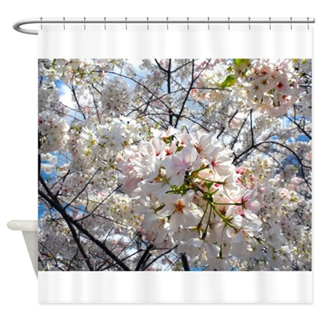 Tree Blossoms in Decatur Georgia Shower Curtain