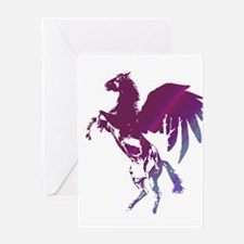 Pegasus - Horse with Wings Greeting Card