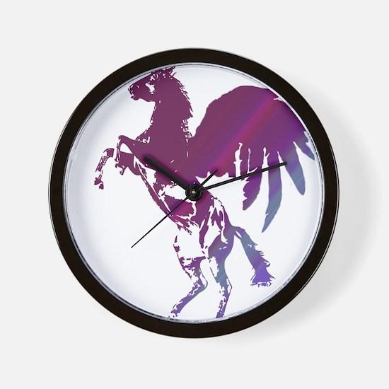 Pegasus - Horse with Wings Wall Clock