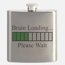 Brain Loading Bar Flask
