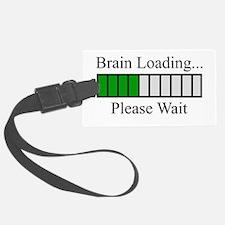 Brain Loading Bar Luggage Tag