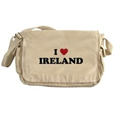 I Love Ireland Messenger Bag