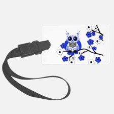 BW CB SK Owl.png Luggage Tag